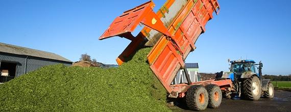 livraison de déchets verts pour méthanisation