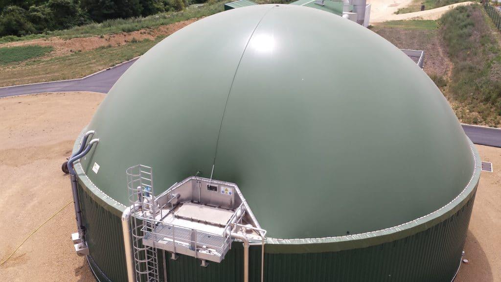 Cuve de biométhane par France Biométhane